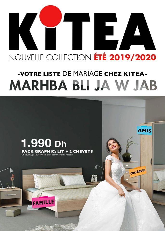 Kitea maroc catalogue t 2019 promotion au maroc for Mobilia kenitra