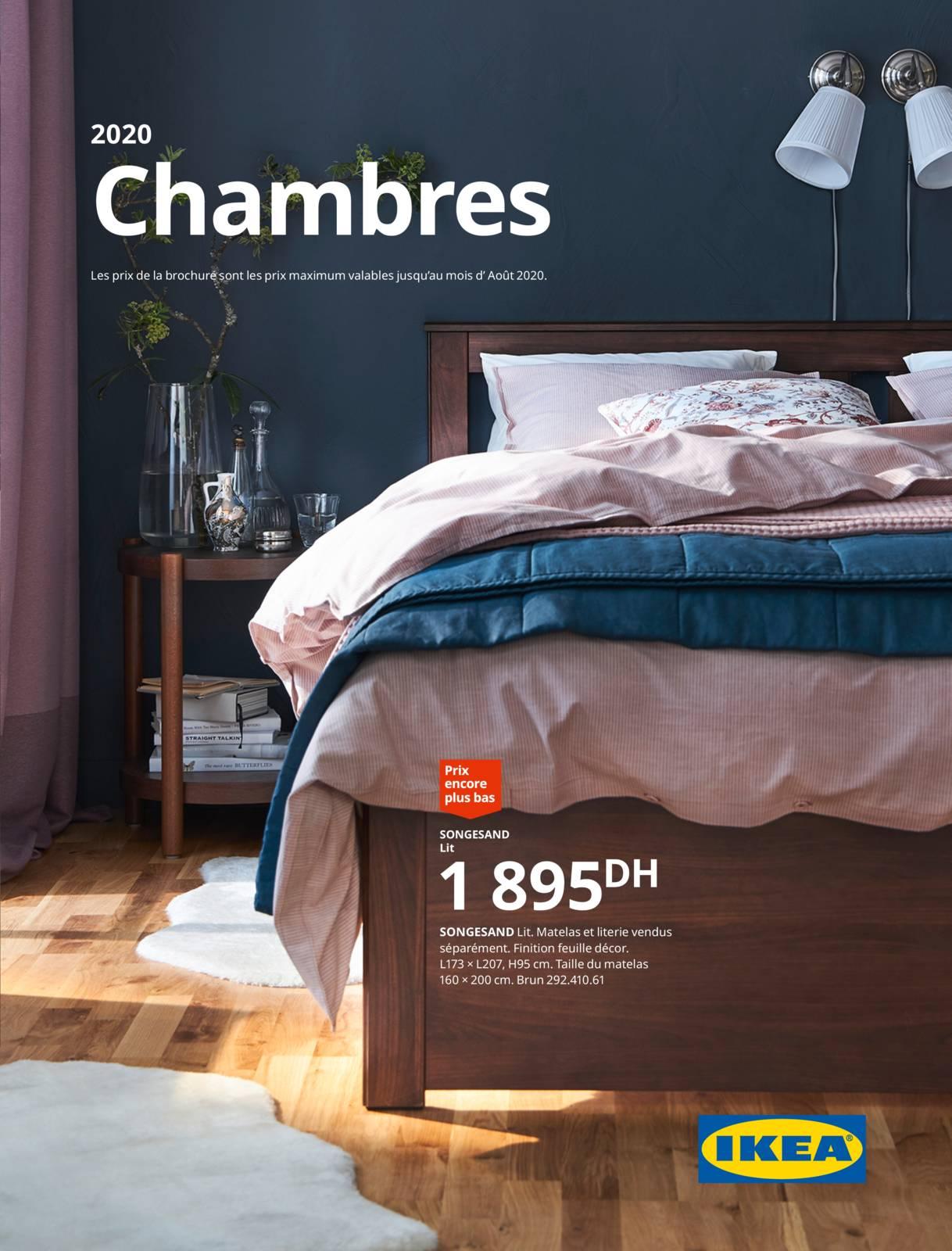 Ikea Maroc Catalogue 2020 Chambre à Coucher Promotion Au